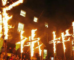 Bonfire Night Parade in Lewes