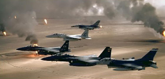 Gulf War Planes